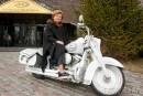 """""""Vaira"""" – eksprezidentes vārdā nosauktais motocikls"""